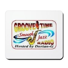 Groove-Time Smooth Jazz Mousepad