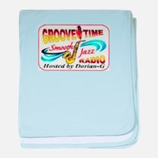 Groove-Time Smooth Jazz baby blanket