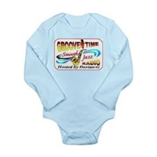 Groove-Time Smooth Jazz Long Sleeve Infant Bodysui