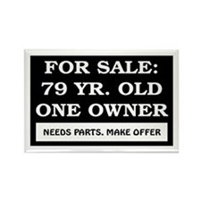 For Sale 79 Year Old Birthday Rectangle Magnet