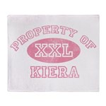 Property of Kiera Throw Blanket