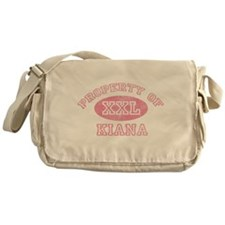 Property of Kiana Messenger Bag