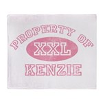 Property of Kenzie Throw Blanket