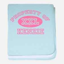 Property of Kenzie baby blanket