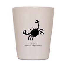 The Black Crab Shot Glass