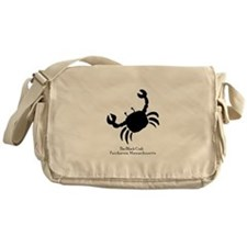 The Black Crab Messenger Bag