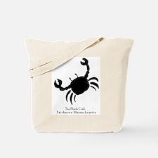 The Black Crab Tote Bag
