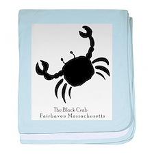 The Black Crab baby blanket