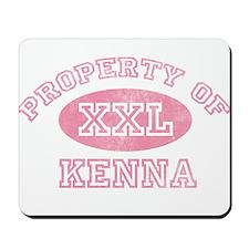 Property of Kenna Mousepad