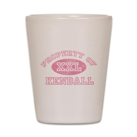 Property of Kendall Shot Glass