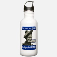 Unique Canadian army Water Bottle