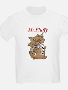 Mr.Fluffy Kids T-Shirt