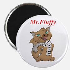 Mr.Fluffy Magnet
