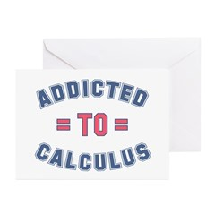 Addicted to Calculus Greeting Cards (Pk of 10)
