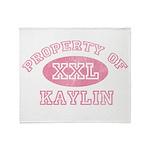 Property of Kaylin Throw Blanket