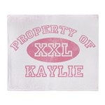 Property of Kaylie Throw Blanket