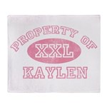 Property of Kaylen Throw Blanket