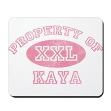 Property of Kaya Mousepad