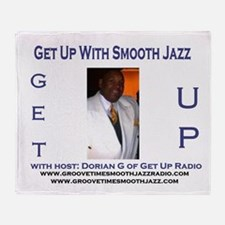 Groove-Time Smooth Jazz Throw Blanket
