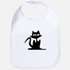 Halloween Cat Bib