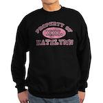 Property of Katelynn Sweatshirt (dark)