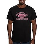 Property of Katelynn Men's Fitted T-Shirt (dark)