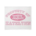 Property of Katelynn Throw Blanket