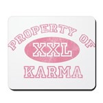 Property of Karma Mousepad