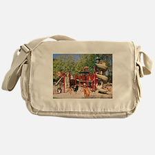 Dog Park Messenger Bag