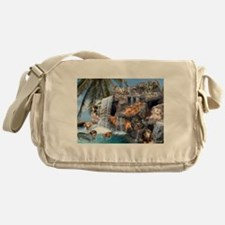 Pool Party Messenger Bag