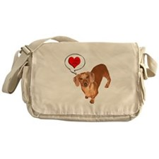 Love You Messenger Bag