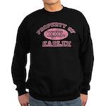 Property of Karlee Sweatshirt (dark)