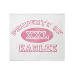 Property of Karlee Throw Blanket