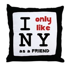 I Like NY Throw Pillow