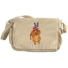 Peace Hat USA Messenger Bag