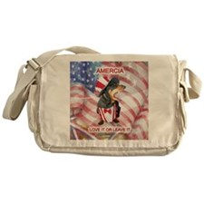 Love It Dachshund Messenger Bag