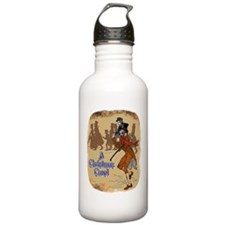 Tiny Tim on Bob Cratchit's Sh Water Bottle