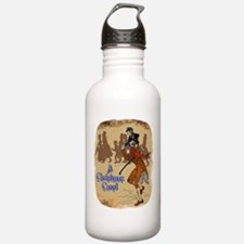 Tiny Tim on Bob Cratchit's Sh Water Bottle