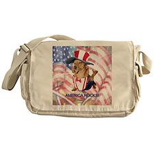 America Rocks Messenger Bag