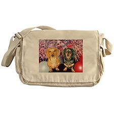 American Dogs Messenger Bag
