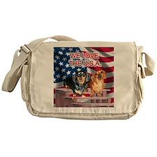 Love USA Messenger Bag