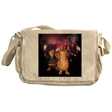 Happy 4th Messenger Bag