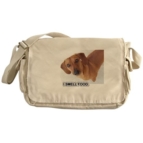 Smell Food Messenger Bag