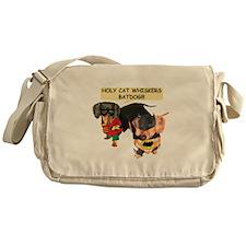 Batdog and Sidekick Messenger Bag