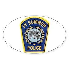 Fort Sumner Police Decal