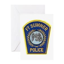 Fort Sumner Police Greeting Card