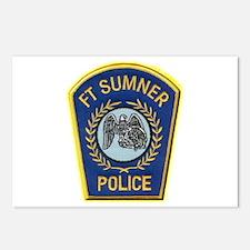Fort Sumner Police Postcards (Package of 8)