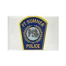 Fort Sumner Police Rectangle Magnet