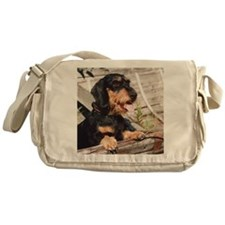 Wire Haired Afternoon Messenger Bag