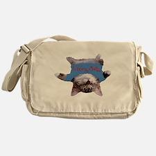 Yoga Kitty Cat Messenger Bag